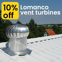 Lomanco Vents - 10% off May/ June 2020