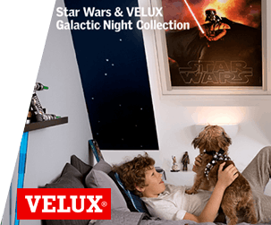 Star Wars and VELUX® Galactic Night Collection