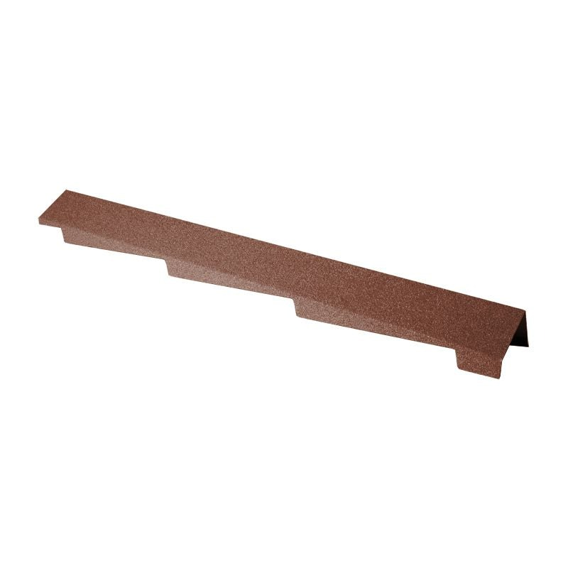 decra barge cover right hand terracotta red roofing superstore
