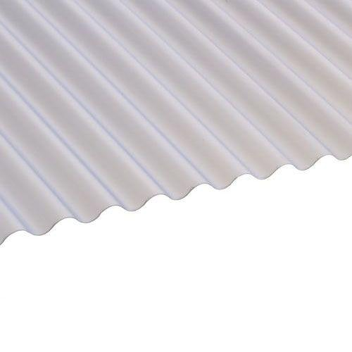 PVC Mini Corrugated Roofing Sheets (Clear)  2.44m x 0.662m