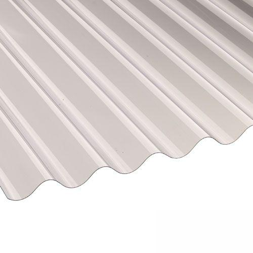 Vistalux PVC Corrugated Roof Sheets (Profile 3) 2.44m x 0.762m x 1.3mm