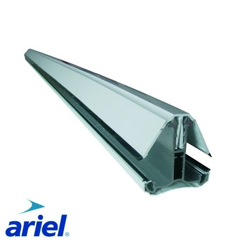 Self Supporting Polycarbonate System Intermediate Bar (3.0m) - White