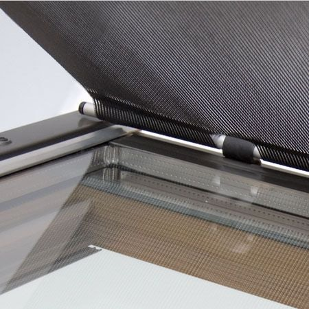 Awning Blind For RoofLITE Dakstra Roof Windows In Black