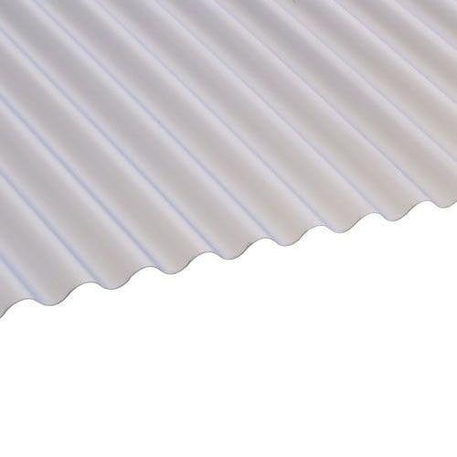 PVC Mini Corrugated Roofing Sheets (Translucent)  - 1.83m x 0.662m