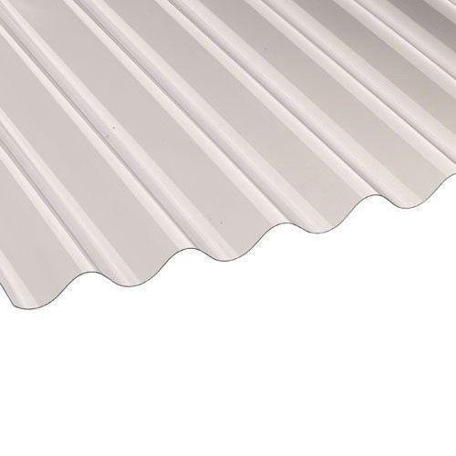 Vistalux PVC Corrugated Roof Sheets (Profile 3) 3.05m x 0.762m x 0.8mm