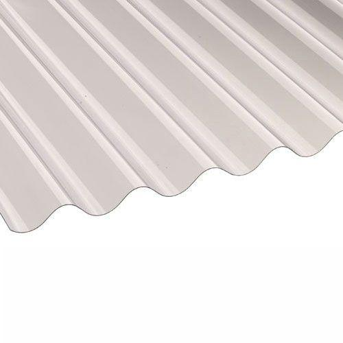 Vistalux PVC Corrugated Roof Sheets (Profile 3) 1.83m x 0.762m x 1.1mm