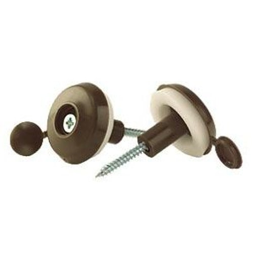 Corotherm 16mm Brown Super Roof Fixing Buttons - Pack of 10