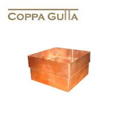 Copper Guttering Square 80x80mm Downpipe Connector