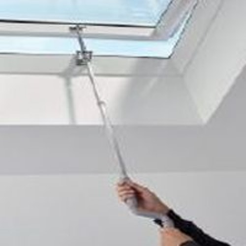 VELUX Flat Roof Window Clear Manual Dome and Kerb - 1000mm x 1500mm