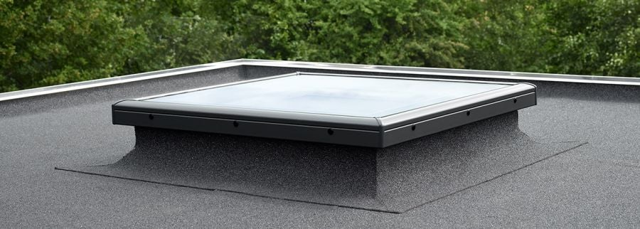 velux fixed flat glass rooflight clear for flat roof 1000mm x 1500mm roofing superstore. Black Bedroom Furniture Sets. Home Design Ideas