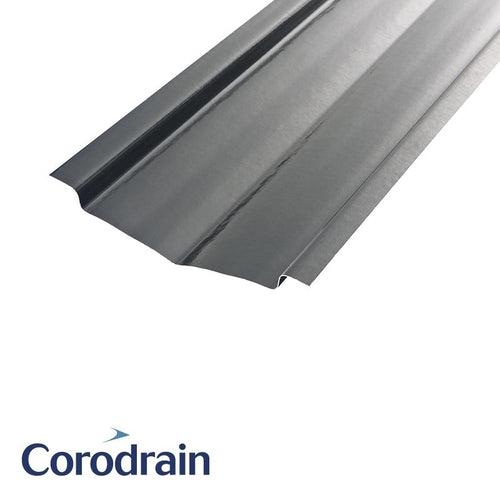 Harcon Corodrain HB30 Standard B-Type Valley for Slate & Plain Tiles - 3m