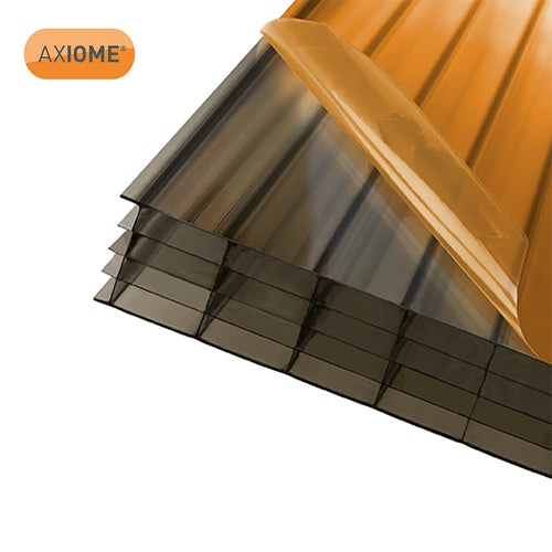 AXIOME 25mm Bronze Polycarbonate Sheet - 2000mm x 1050mm
