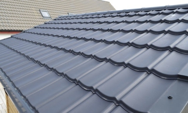 Lightweight Roof Budget Tile Dry Verge Right Hand