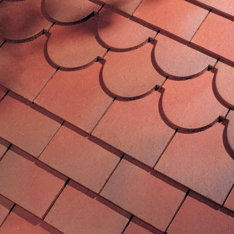 Dreadnought Premium Clay Roofing Tile Country Brown