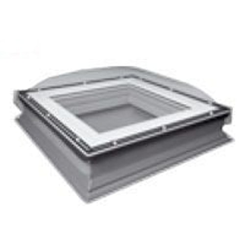 Fakro DXC-C P2 900900 Flat Roof Fixed Dome & Kerb - 900mm x 900mm