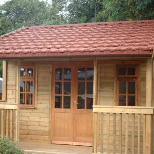 Lightweight Roof Tile - Traditional Red