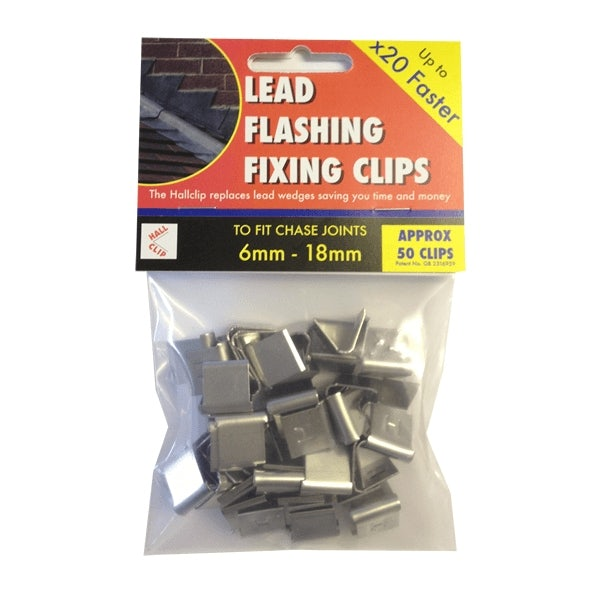 Video of Lead Flashing Clip (Hallclip) - Pack of 50