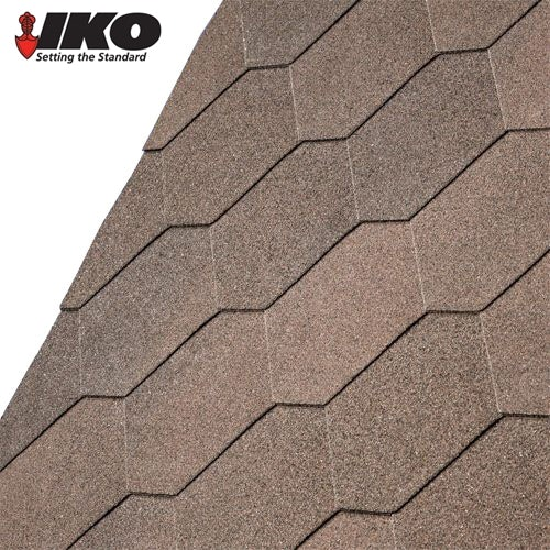 Video of IKO Armourshield Hexagonal Roofing Shingles (Dual Brown) - 3m2 Pack