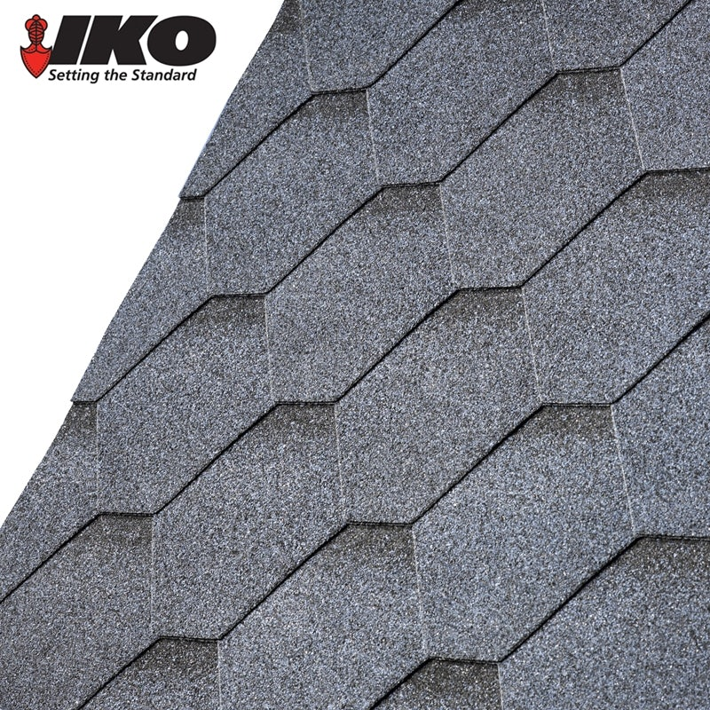 Video of IKO Armourshield Hexagonal Roofing Shingles (Granite Grey) - 3m2 Pack