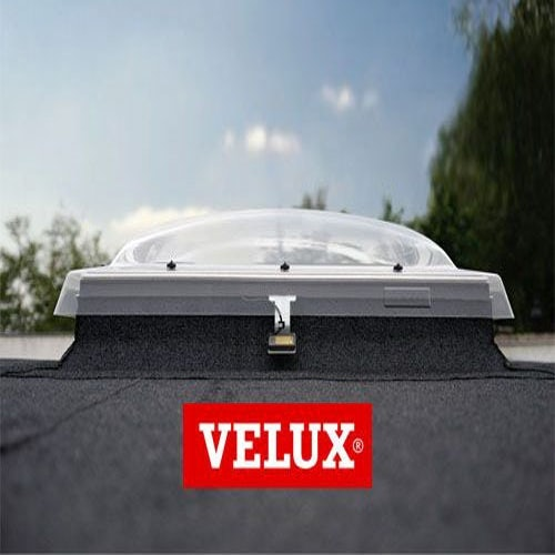 VELUX Flat Roof Window Clear INTEGRA Dome and Kerb - 1000mm x 1500mm