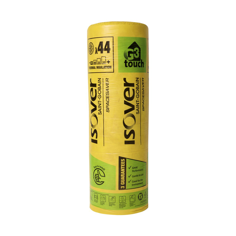 Isover Spacesaver Loft Insulation Roll 200mm 4 5m2 Roofing