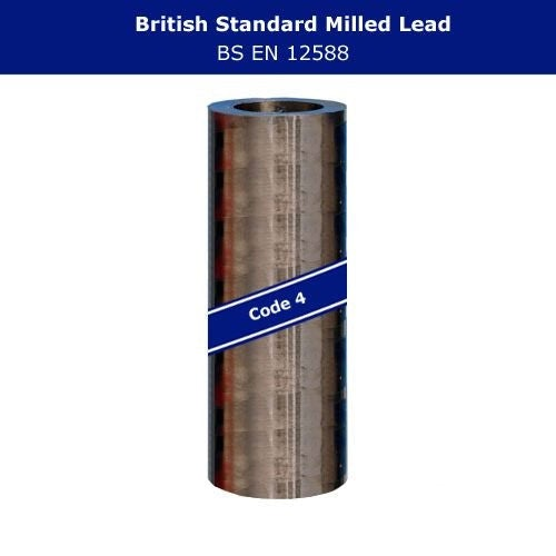 Lead Code 4 - 450mm x 6m Roofing Lead Flashing Roll