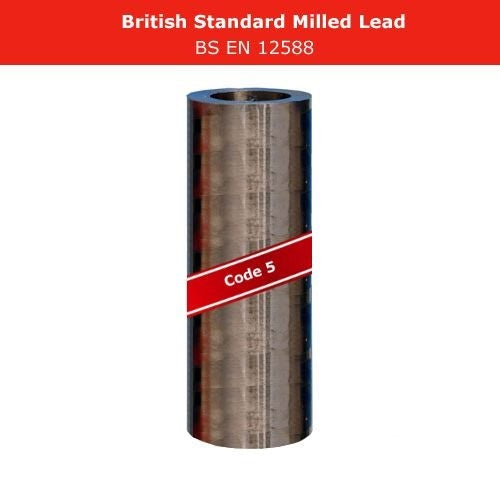 Lead Code 5 - 600mm x 6m Roofing Lead Flashing Roll
