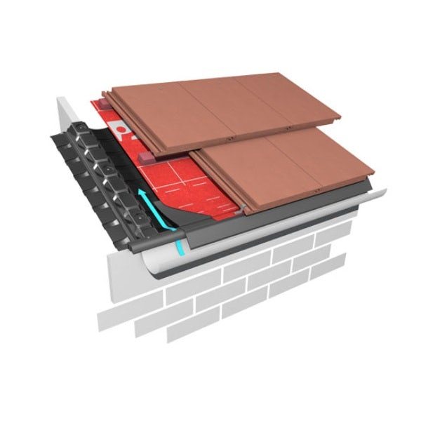 Marley Eternit 25mm Eaves Vent System 6m Roofing