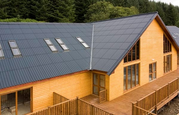 Marley Eternit Profile 6 Fibre Cement Sheet Natural Grey