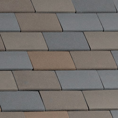 Marley Clay Plain Hawkins Roof Tile Staffordshire Mix