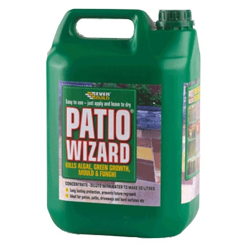 Everbuild Patio Wizard Moss Away Concentrate 5 Litres