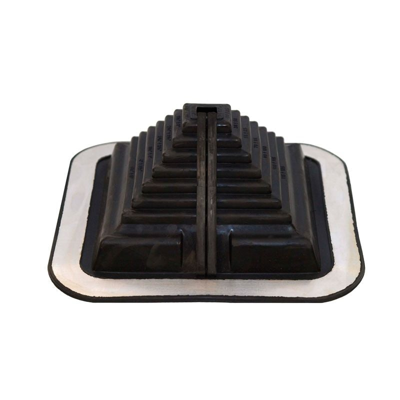 Pipe Flashing For Metal Roofs 20 125mm Dektite Combo Black