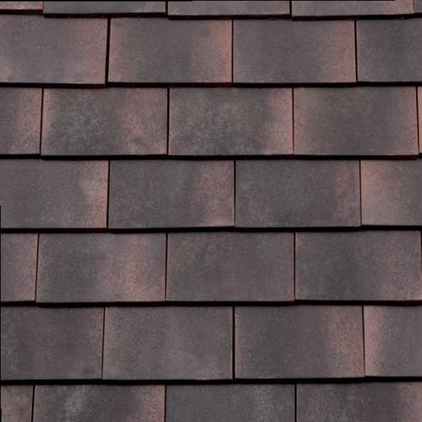 Redland Rosemary Clay Classic Roof Tile Sanded Dark