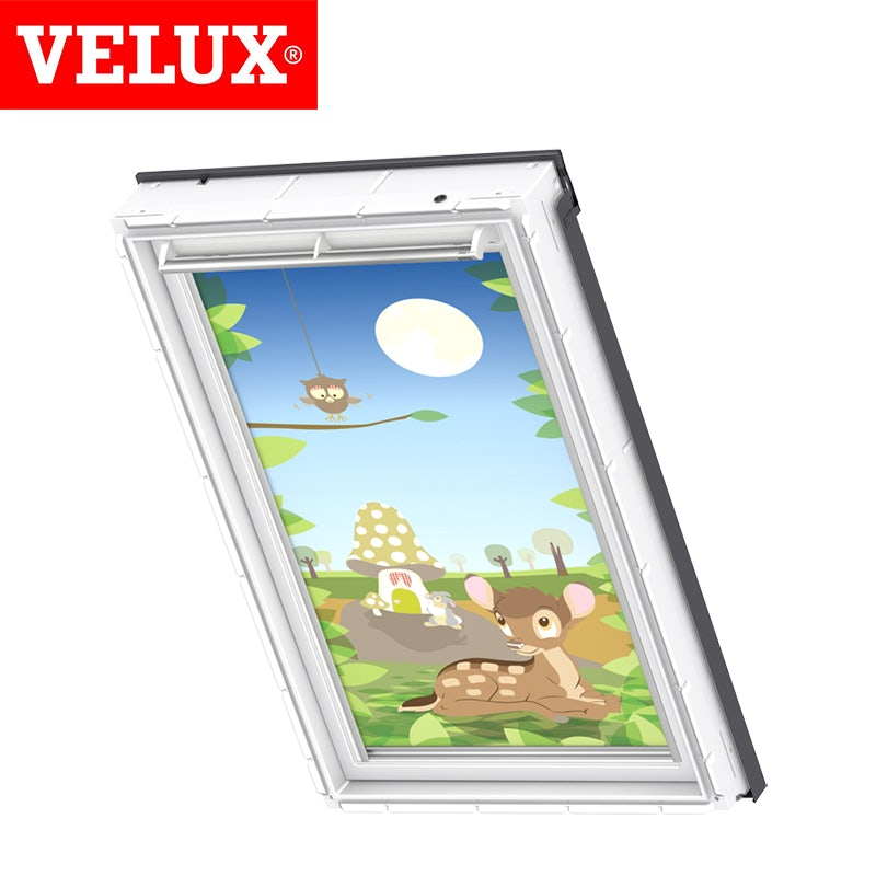 disney velux manual blackout blind dkl mk06 4613 bambi roofing superstore. Black Bedroom Furniture Sets. Home Design Ideas