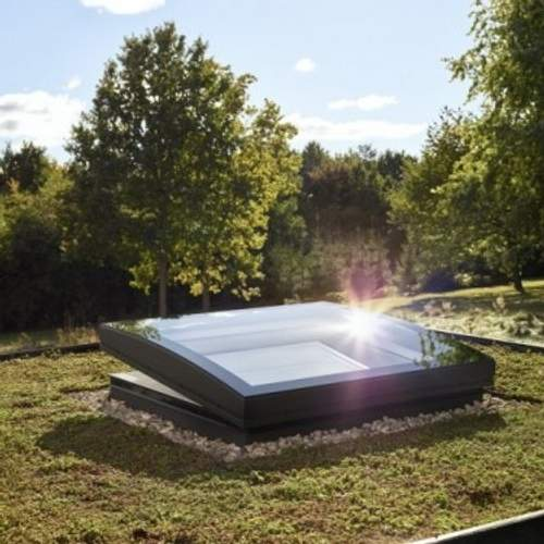 VELUX CFP 100150 1093 Fixed Curved Glass Rooflight - 1000mm x 1500mm