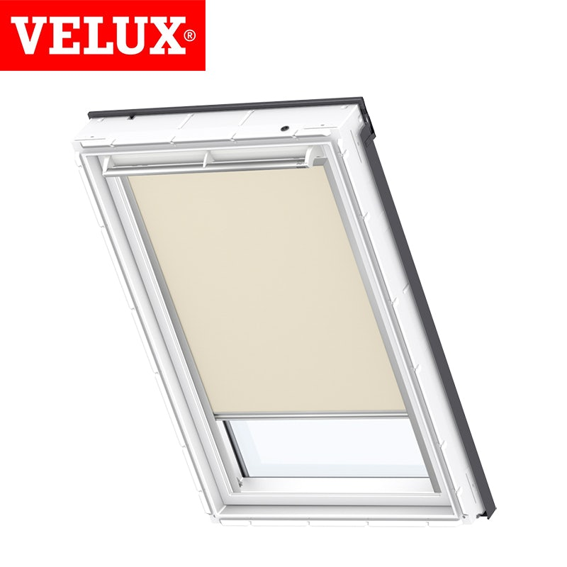 Velux manual blackout blind dkl m06 4556 beige roofing for Outlet velux