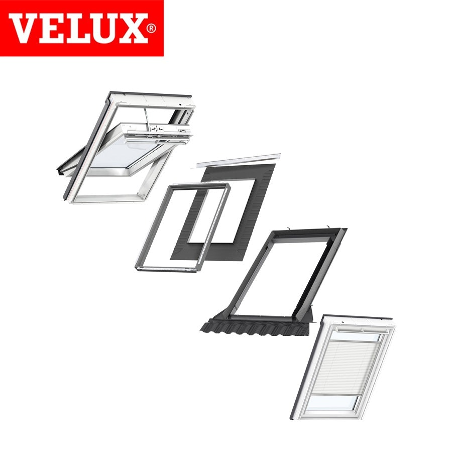 velux integra mk04 white pu window white electric. Black Bedroom Furniture Sets. Home Design Ideas
