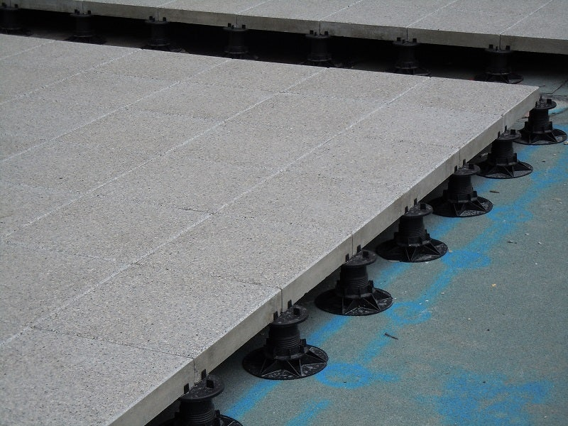 Wallbarn Asp 25mm Fixed Paving Pad Roofing Superstore