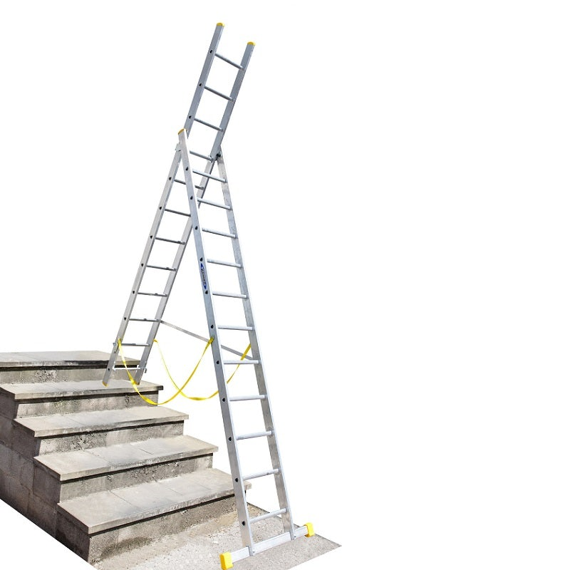 Werner 3 53m Double Box Extension Plus Ladder X 3 Bs