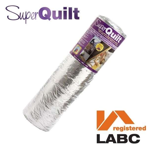 Video of YBS SuperQuilt Roof Multi-layer Foil Insulation - 1.5m x 10m (15m2)