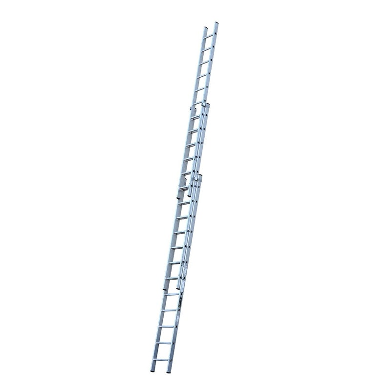 Youngman Trade 200 3 Section Push Up Extension Ladder 3