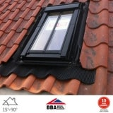 VELUX GGL CK04 SD5W2 Conservation Window for 120mm Tiles - 55cm x 98cm