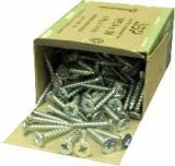Brass Coated Guttering Screws / Countersunk M5.0 x 30mm - Box of 200