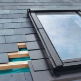 Special ELV/03 Fakro Single Flashing For Slate Up To 8mm Thick - 66 x 98cm