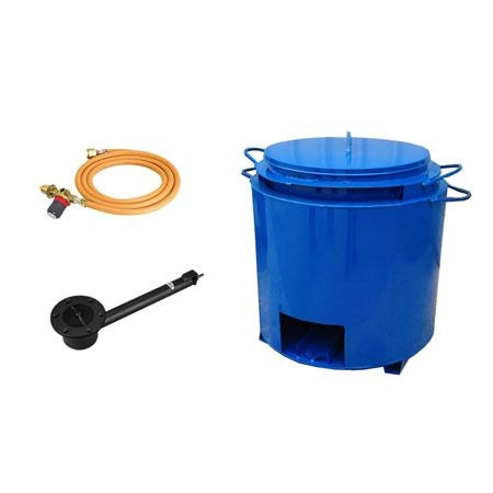 Double Skin Bitumen Boiler Pot Complete Kit - 25 Gallon (With Out Tap)