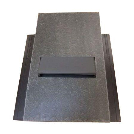 Natural Top Bat Vent - Natural Slate - 500mm x 250mm