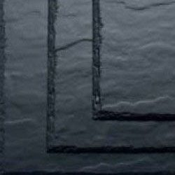 SVK  600mm x 600mm Montana Textured Fibre Cement Slate - Blue/Black