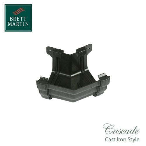 Cascade Cast Iron Style 106mm Prostyle External 135dg Angle - Black