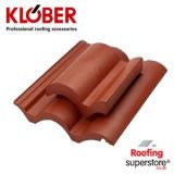 Klober Venduct High Flow Vent Top Vent for Redland Regent - Terracotta