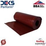 Deks Perform Flexible Lead Alternative - 450mm x 4m Roll (Terracotta)